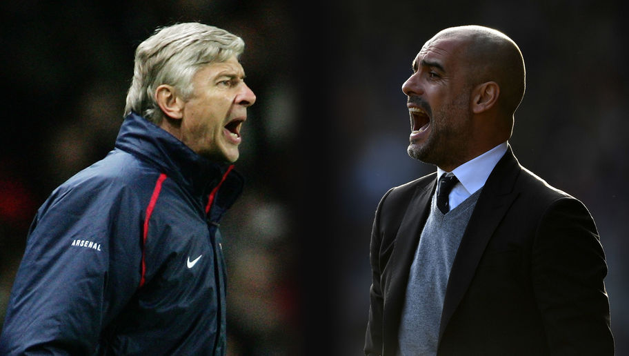Arsene Sticks it to #WengerOut Brigade With Unrivalled Record Against Guardiola Teams