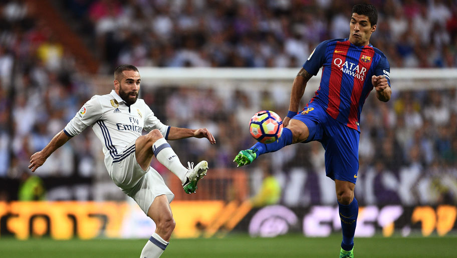 REVEALED: What Real Madrid Defender Dani Carvajal Said to Barcelona's Luis Suarez During El Clásico