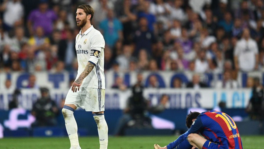 Real Madrid Skipper Sergio Ramos Handed Just One Game Ban Following El Clasico Red Card