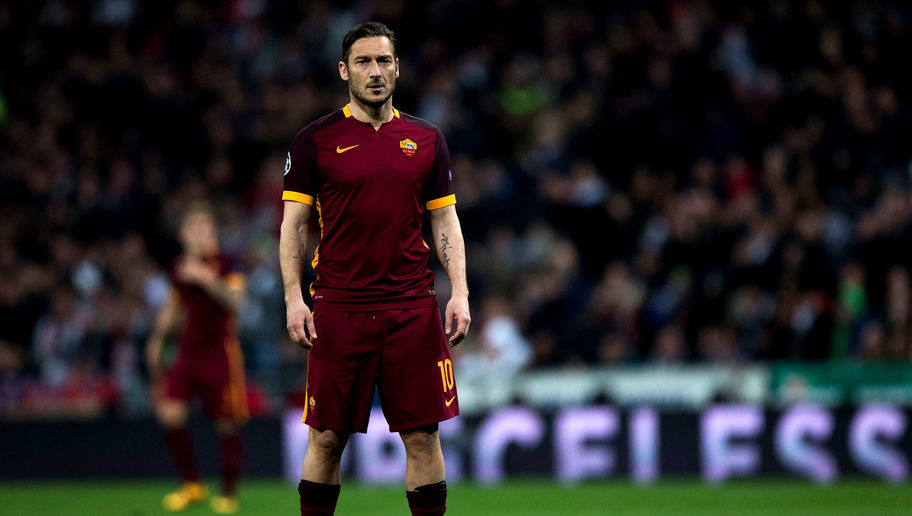 AS Roma Legend Francesco Totti Reveals the One Player He Regrets Never Playing Alongside