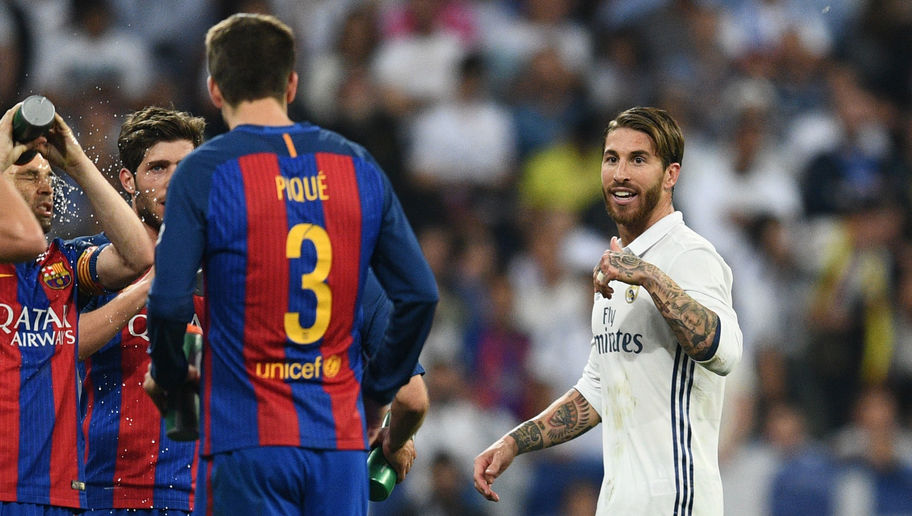 Report Reveals Sergio Ramos' Reason for Giving Clasico Referee a Signed Shirt BEFORE the Match