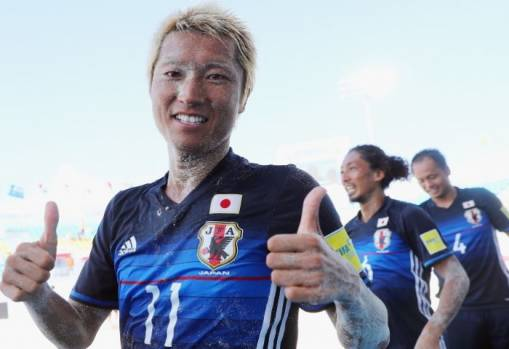 FIFA Beach Soccer World Cup Group D: Japan 9-4 Poland