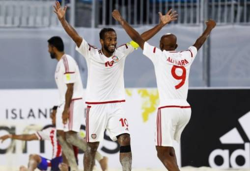 FIFA Beach Soccer World Cup Group C: UAE 3-2 Paraguay