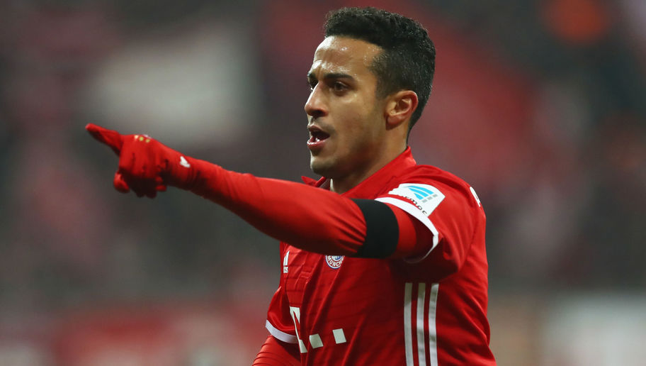 Thiago Alcantara Focused on Trophies After Signing New 4-Year Bayern Munich Contract