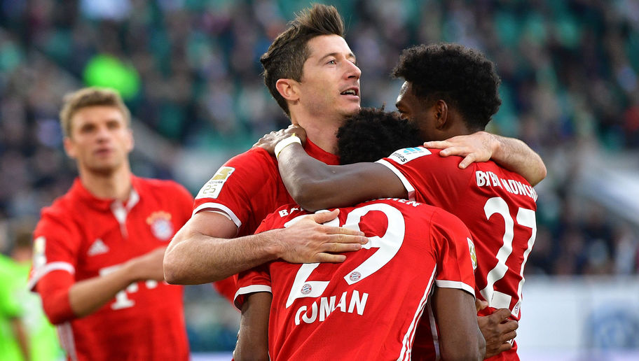 5 in a Row! Bayern Munich Celebrate Historic Bundesliga Title With Crushing Victory Over Wolfsburg