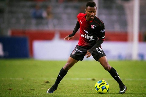 VIDEO: Mexico-based Clifford Aboagye scores classy rabonna in training