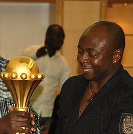 Abedi Pele open's his arms wide to work with new CAF boss Ahmad Ahmad