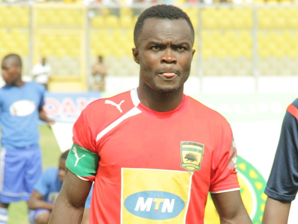 Asante Kotoko captain Amos Frimpong confirms Enyimba FC talks