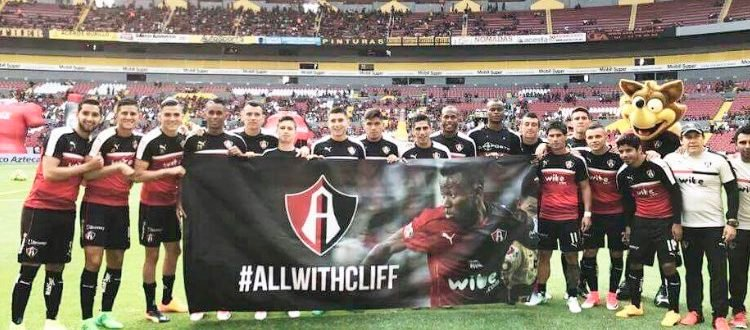Atlas FC players send classy message of support to injured star Clifford Aboagye
