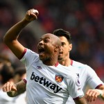 PHOTOS: Andre Ayew celebrates scoring 5th Premier League goal for West Ham against Sunderland