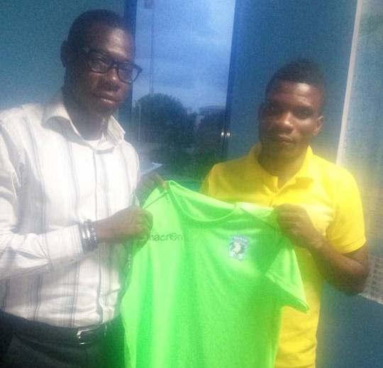 Bechem United snap up Bolga All Stars striker Noah Neequaye on three-year deal
