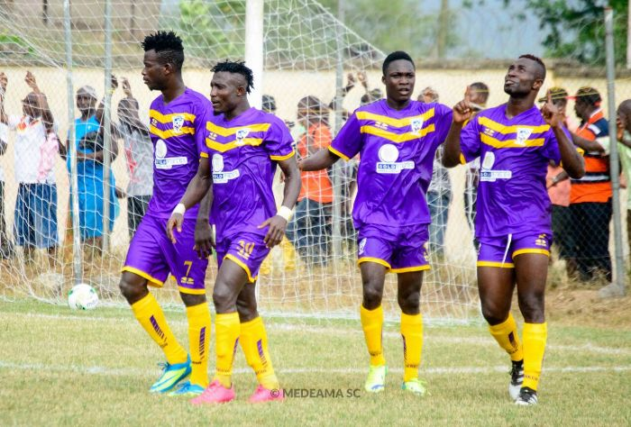 Match Report: Great Olympics 0-3 Medeama- Impressive Medeama performance dents Olympics hopes in relegation battle