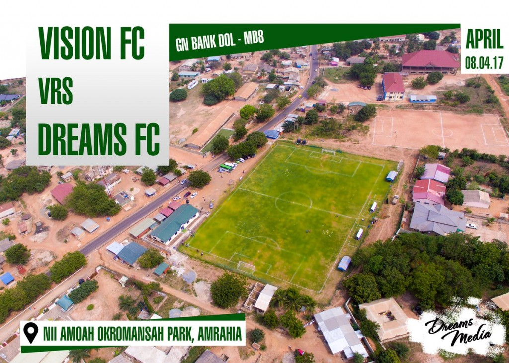 RE-LIVE: Vision FC 2-3 Dreams FC - 2016/17 GN Bank Division One League