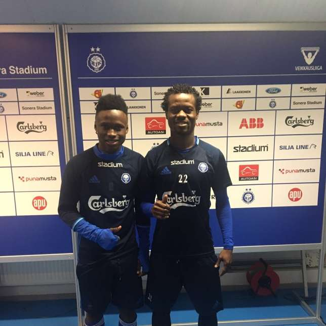 Ghanaian duo Annan, Mensah deliver for HJK Helsinki in Champions League playoffs win over Vikingur