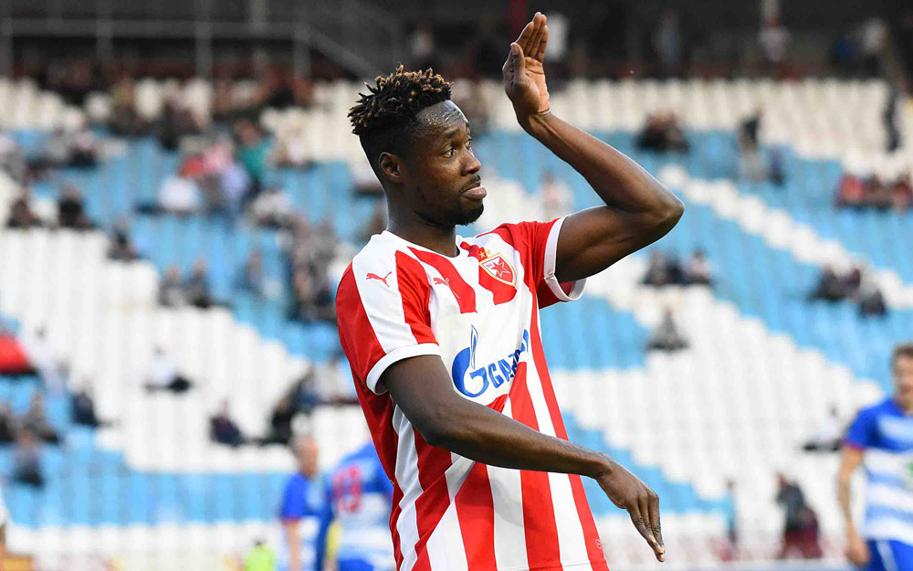 Everton, Anderlecht, CSKA and Fenerbahce sent scouts to watch Richmond Boakye against FC Cologne