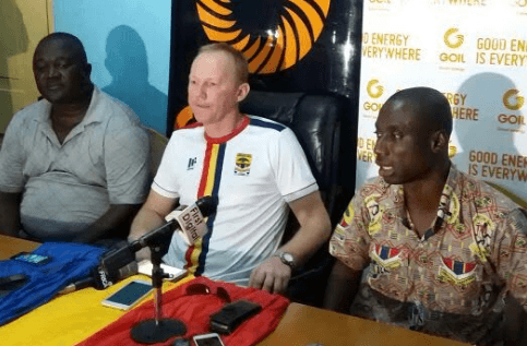 Hearts of Oak coach Frank Nuttal not troubled by side's loss against Medeama