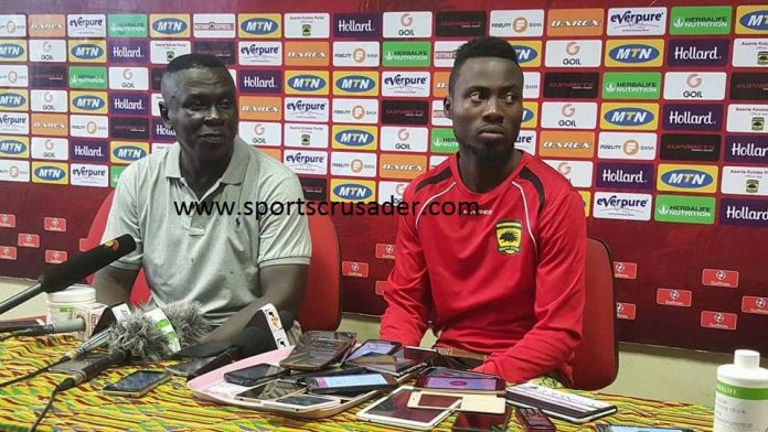 Asante Kotoko stop-gap coach Frimpong Manso laments lack of concentration after Aduana draw