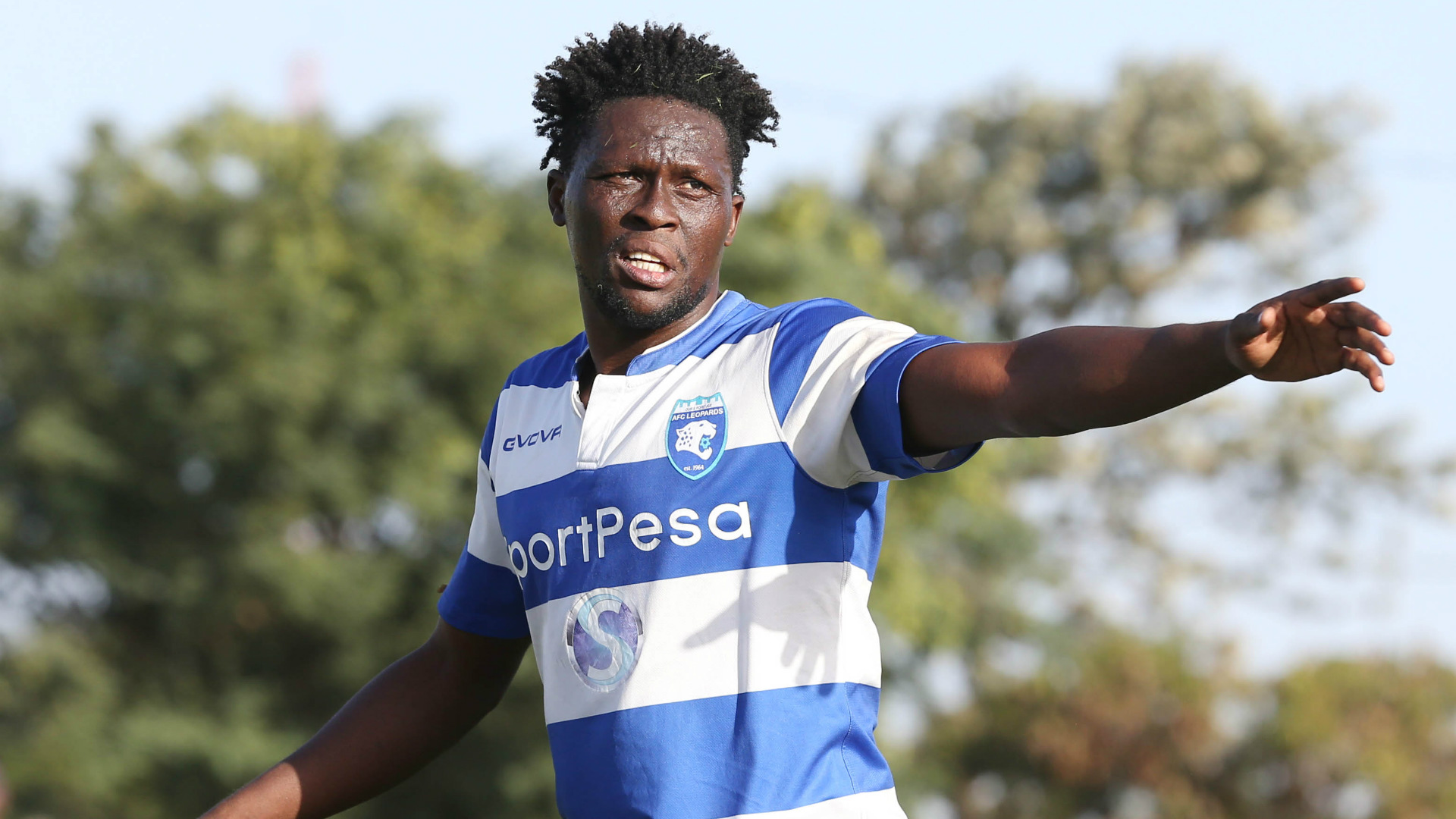 Gilbert Fiamenyo scores as AFC Leopards cruise to victory in Kenyan Premier League
