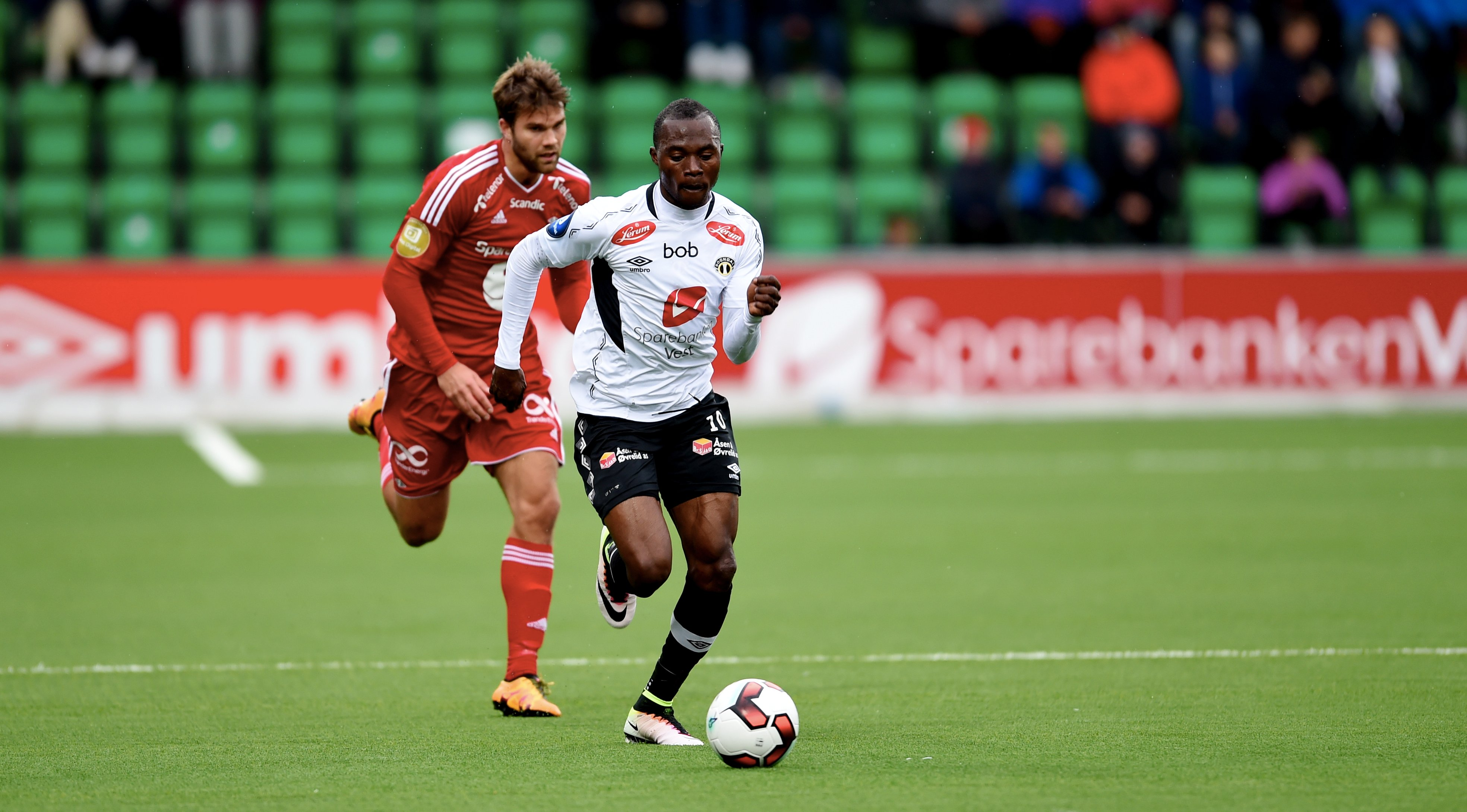 Gilbert Koomson scores and provides assist as Sogndal win in Norwegian top-flight