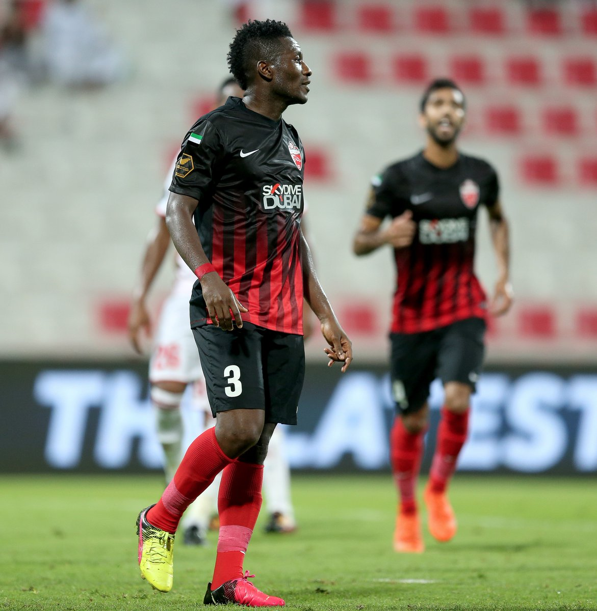 VIDEO: Watch Asamoah Gyan's expertly taken penalty in Al Ahli draw