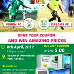 GN BANK DOL ZONE 3: Battle of supremacy as Dreams FC visit Vision FC in top of the table clash
