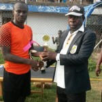 Bechem United reward two of their players for excellent performances in Hearts and Inter Allies games