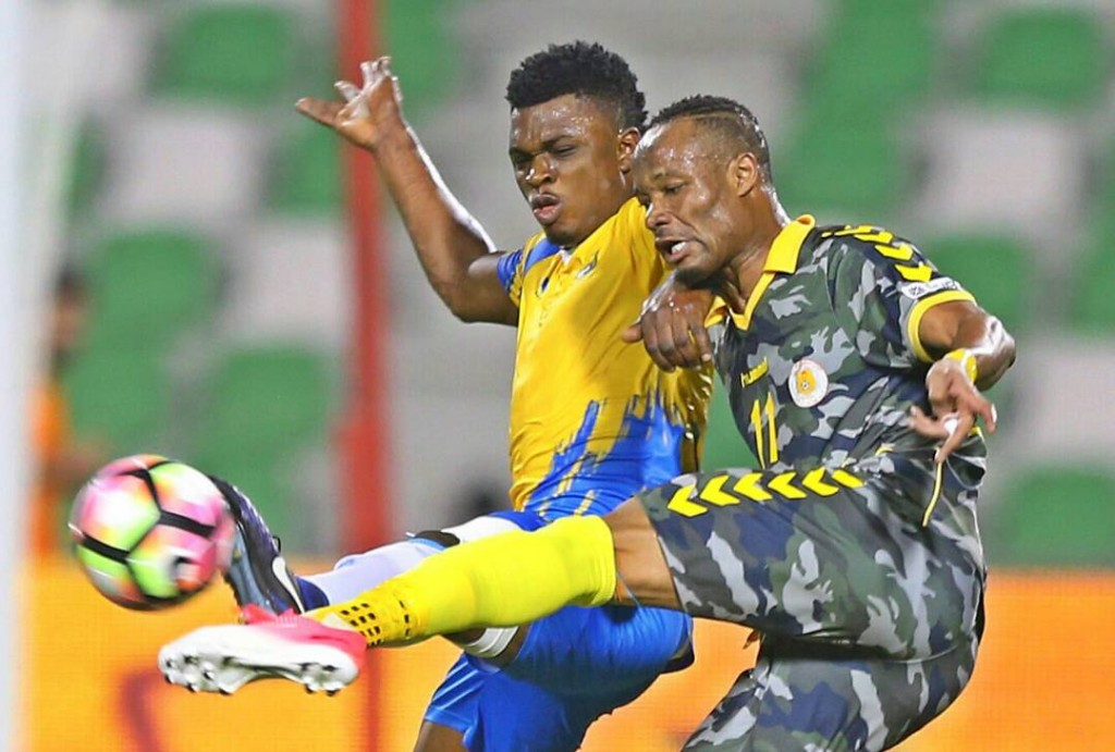 Rashid Sumaila plays full throttle for Al Gharafa in 2-0 win over Al Mesaimeer in Amir Cup
