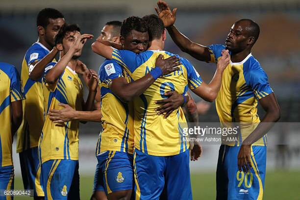 Rashid Sumaila inspires Al Gharafa to 2-0 win over Musaimeer SC in Amir Cup clash