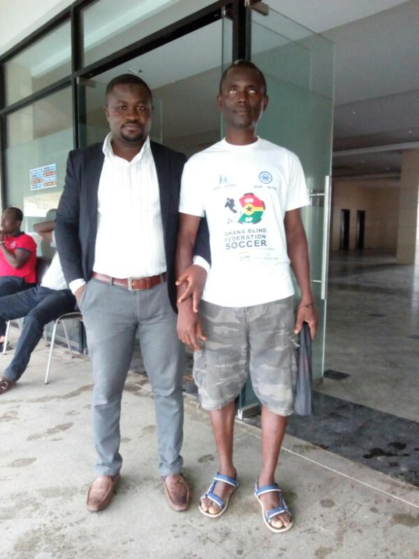 Ghana Blind Federation Soccer star Alex Moro appeals for aid to play 2018 AFCON qualifier
