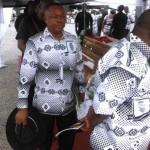 PHOTOS: Ghana FA officials at Sam Arday's funeral