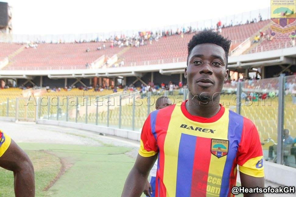 Hearts of Oak midfielder Winful Cobbina signs contract with NM football