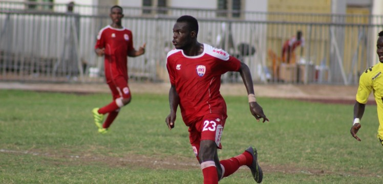 Antwi Amoako named Inter Allies Player of the Week