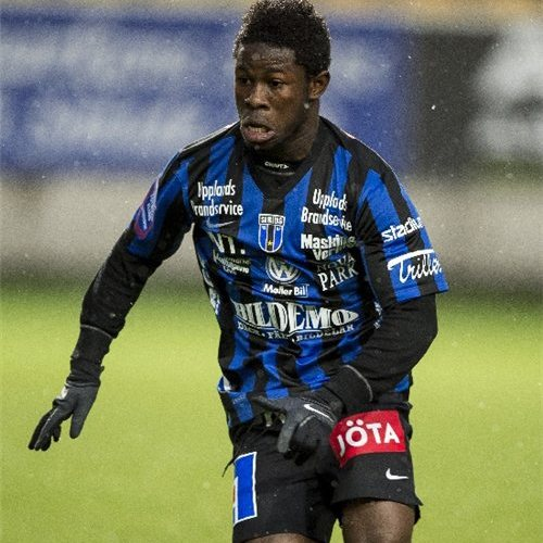 Kingsley Sarfo scores nice solo goal as Sirius account for Kalmar in Swedish top-flight