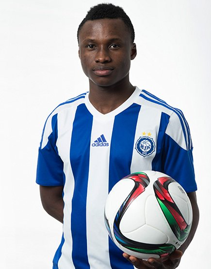 VIDEO: Evans Mensah's unstoppable strike for Finnish giants HJK Helsinki over the weekend