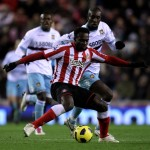 VIDEO: Ghanaian trio Mensah, Gyan and Muntari all score for Sunderland