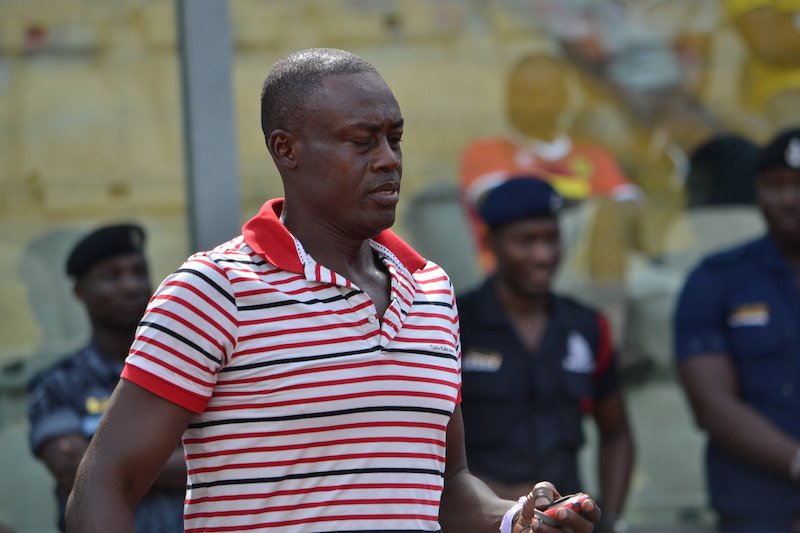 Liberty coach Micheal Osei commends his players after AshantiGold victory