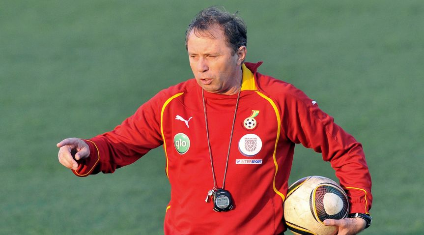 Former Ghana coach Milovan Rajevac named Thailand's national team coach