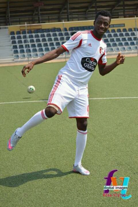 Black Stars B defender Musah Nuhu misses roaming about at New Edubiase at restricted WAFA