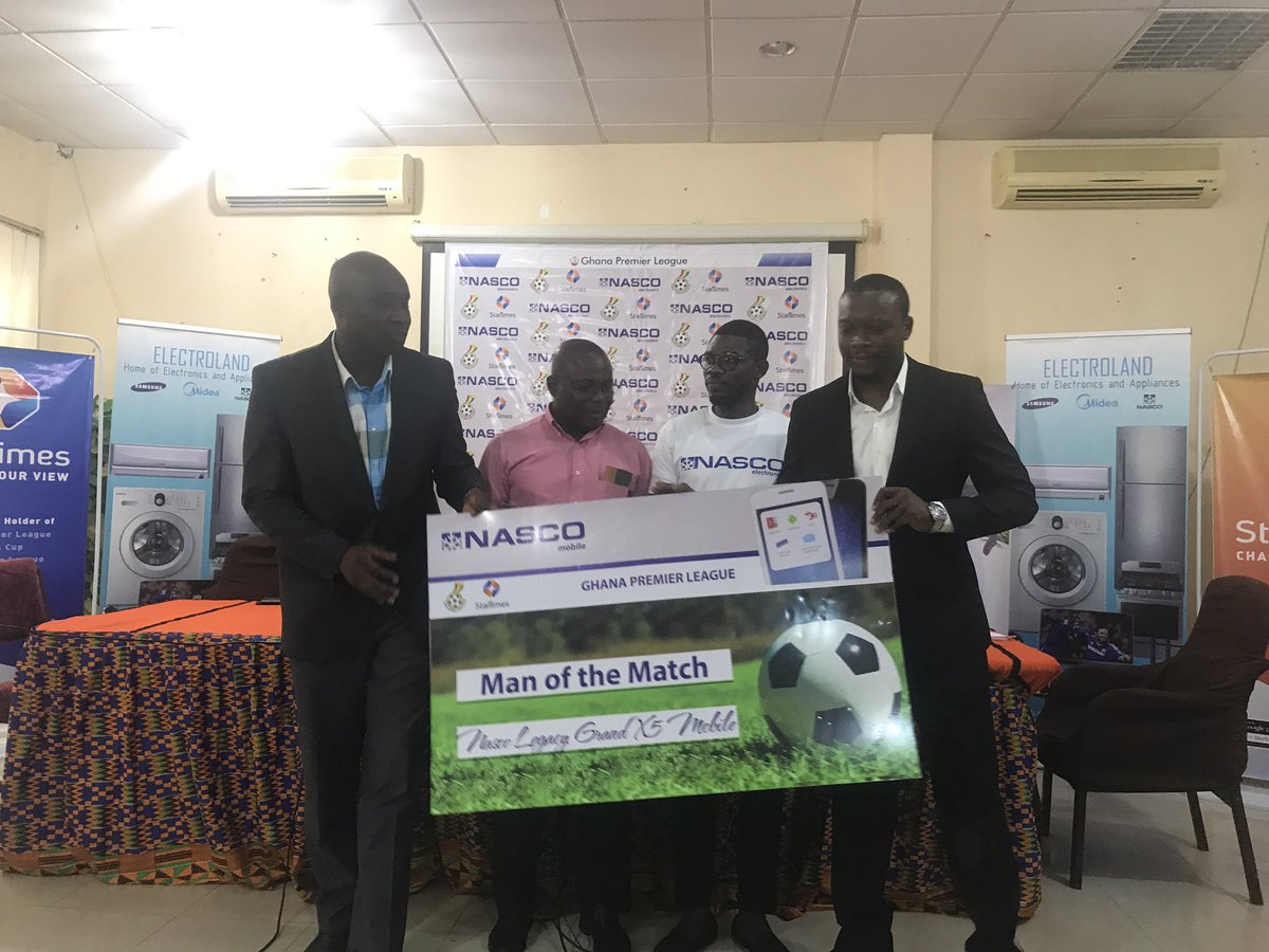 Ghana FA unveils NASCO Electronics as partner for Ghana Premier League