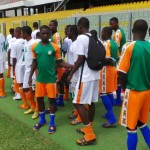 Niger U17 train at Accra Sports Stadium ahead of Starlets friendly