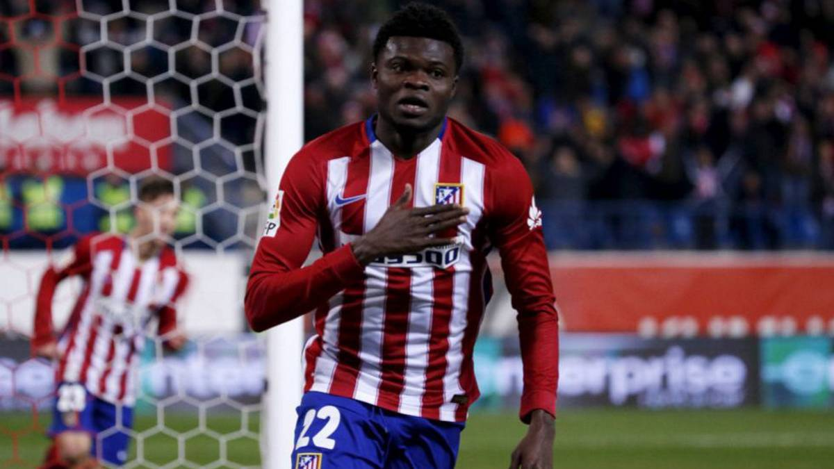Atletico Madrid ace Thomas Partey scores first league goal in Las Palmas win as Kevin Prince Boateng sees RED
