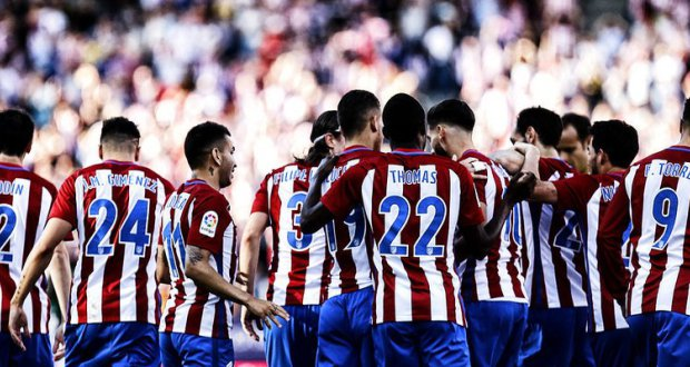 Thomas Partey in Atletico Madrid's team that will play Prince Boateng's Las Palmas