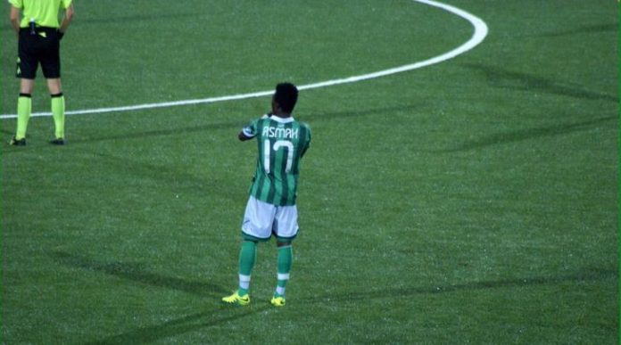 Seria B side Avellino chop off Ghanaian defender Patrick Asmah from squad in Ascoli defeat