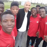 Ex-Arsenal icon Thierry Henry advises Right to Dream U17 players