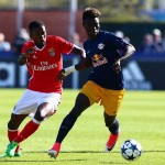 Ghanaian kid Gideon Mensah wins UEFA Youth League with Red Bull Salzburg