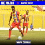 Winful Cobbinah: Hearts of Oak winger named Man-of-the-Match in FA Cup win