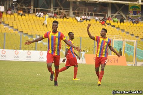 Match Report: Hearts of Oak 2-1 Ebusua Dwarfs- Two first half goals ensure below par Phobians cement top four place