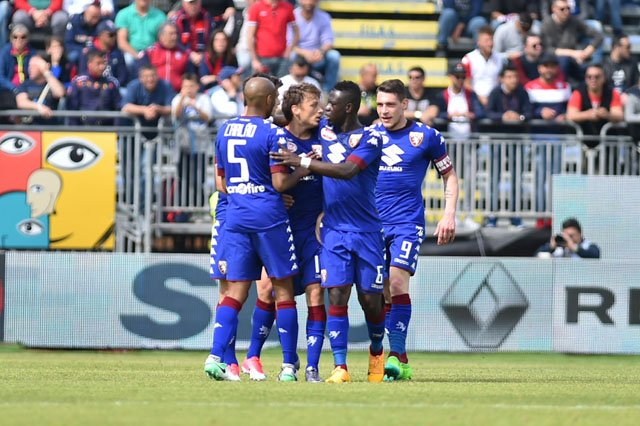 Video: Ghana midfielder Afriyie Acquah scores and gets red card in Torino win in Italy