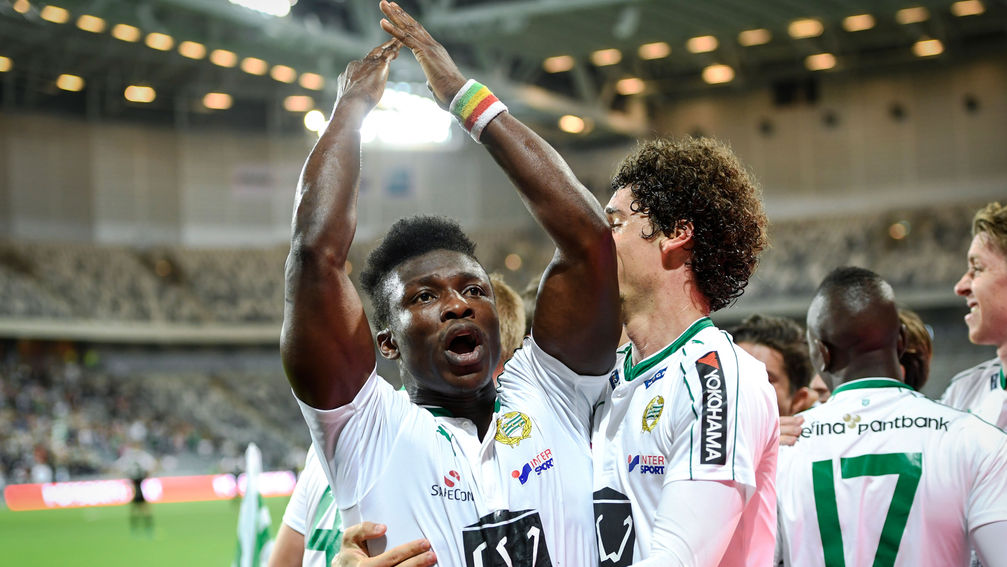Video: Sweden-based defender Joseph Aidoo centimeters from an own goal