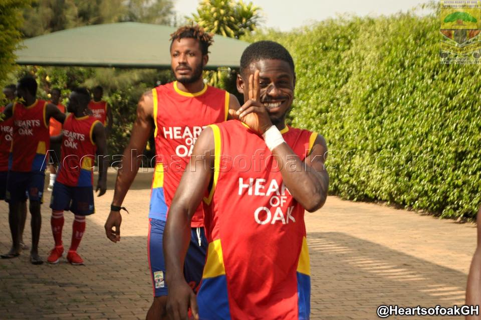 Hearts defender Anthony Nimo eyes Bolga All Stars downfall